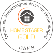 DHS Zertifikat Home Stagerin Gold